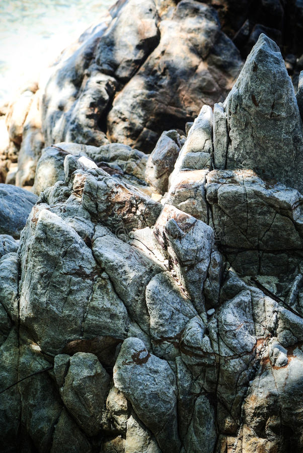 Estrutura da rocha foto de stock