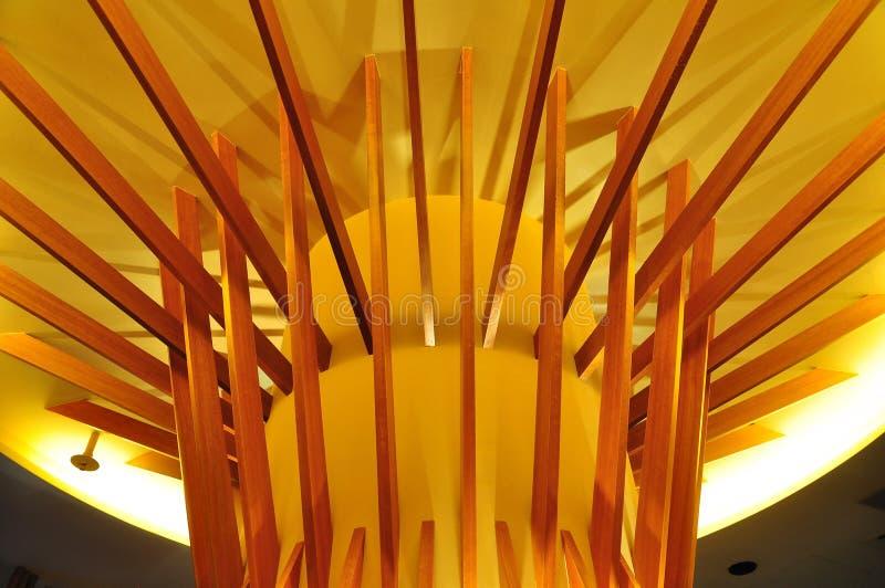 Estrutura de madeira interior foto de stock royalty free