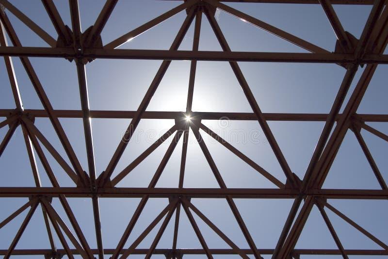 Estrutura de Sun imagem de stock royalty free