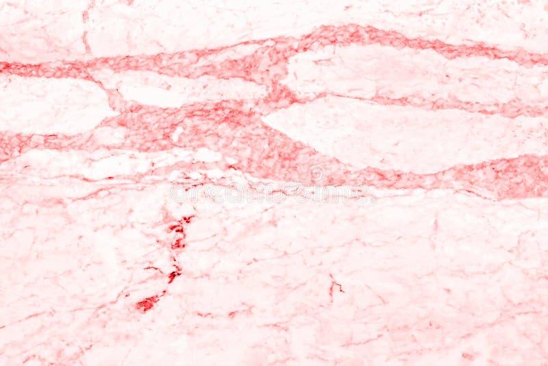 Estrutura detalhada do mármore vermelho no teste padrão natural para o fundo e o projeto imagens de stock