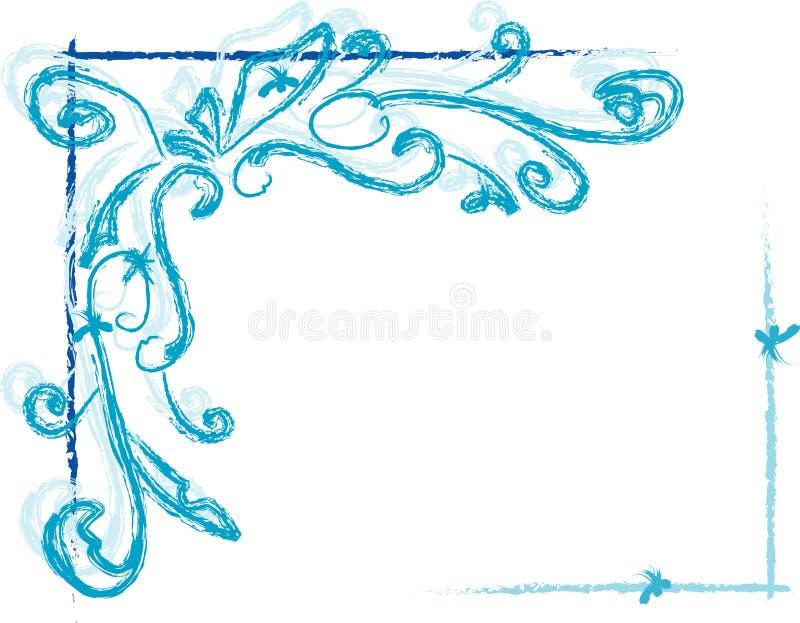 Estrutura do inverno ilustração stock