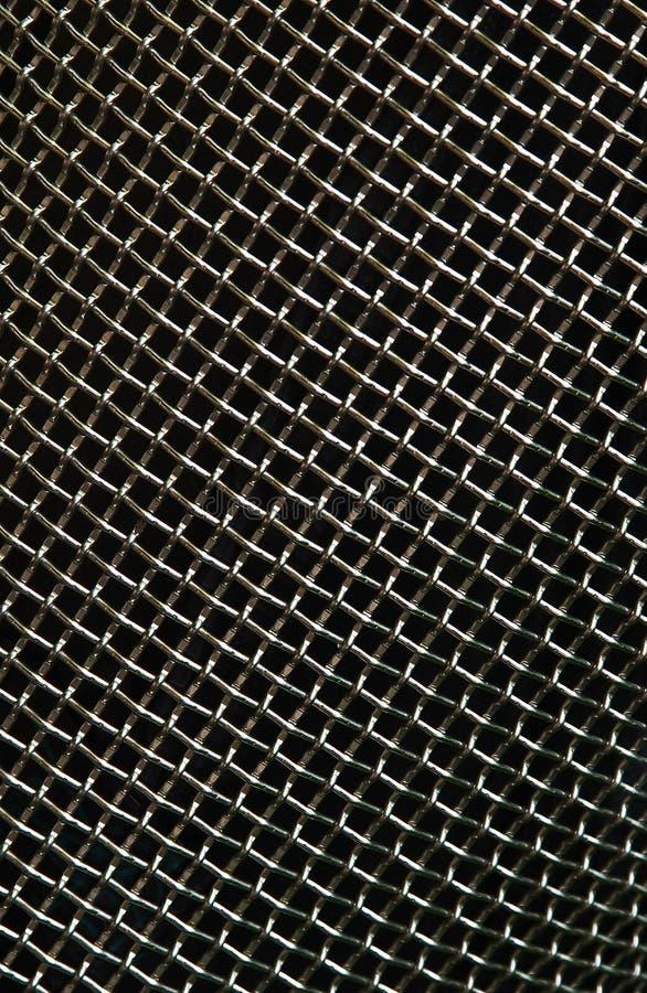Estrutura do metal fotografia de stock