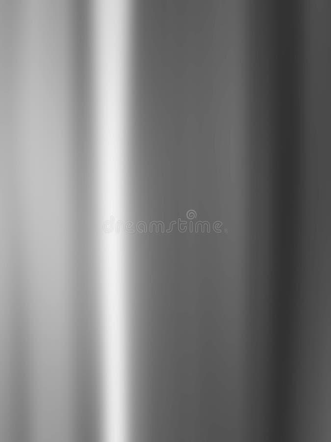 Estrutura do metal da prata de Chrome foto de stock royalty free