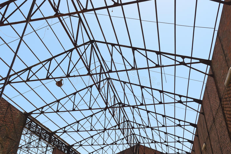 Estrutura do telhado imagem de stock