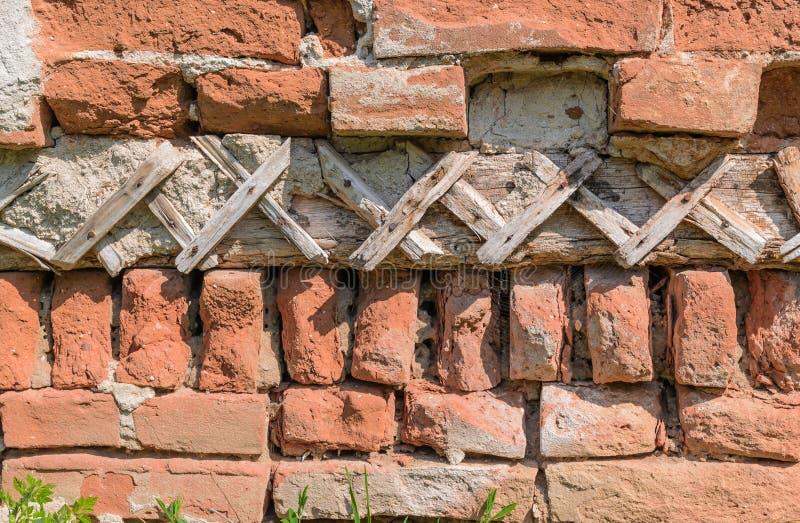 Estrutura em uma parede velha foto de stock