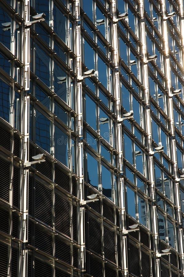 Estrutura exterior do edifício do negócio imagem de stock royalty free