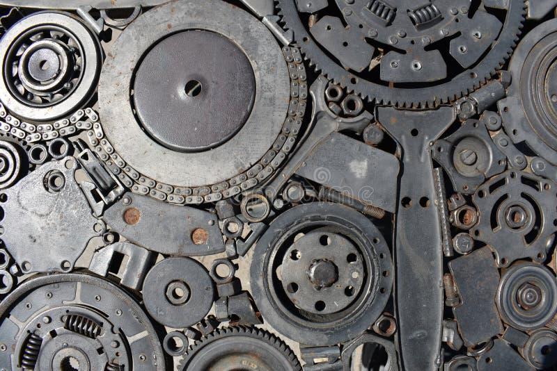 Estrutura mecânica de aço fotos de stock royalty free