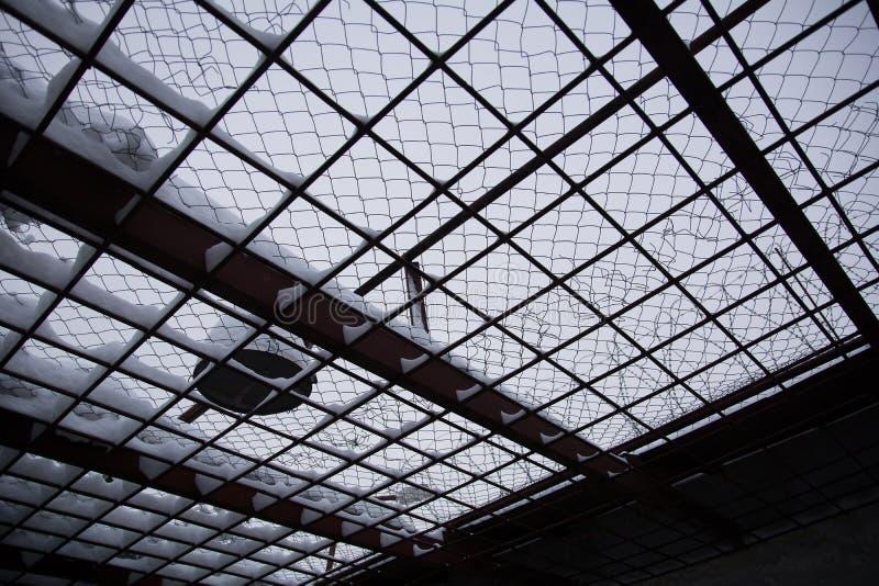 A estrutura na prisão fotos de stock royalty free