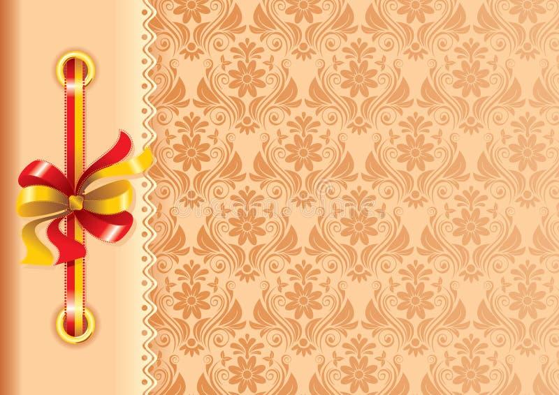 Estrutura para uma foto ou convites ilustração royalty free