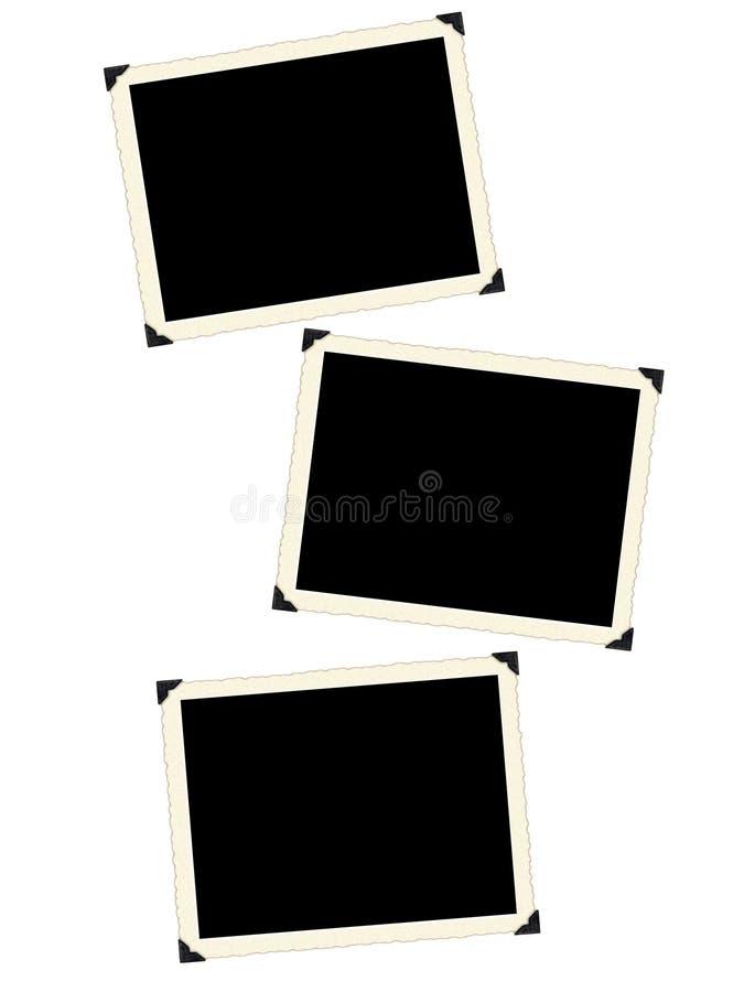 Estrutura retro da foto foto de stock