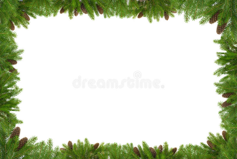 Download Estrutura verde do Natal foto de stock. Imagem de verde - 16866226