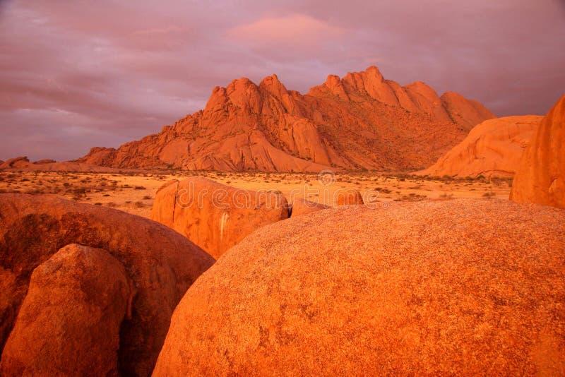 Estruturas da rocha em Spitzkuppe imagem de stock