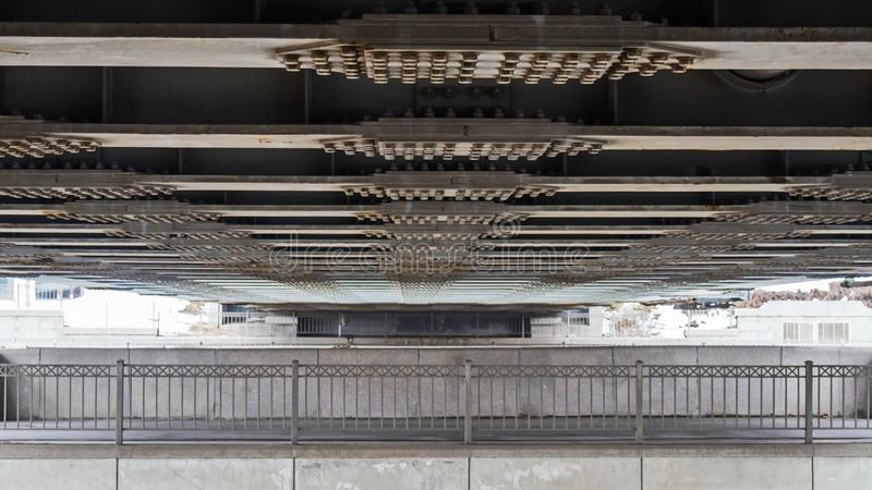 estruturas do metal de St Petersburg fotos de stock