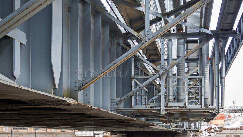 estruturas do metal de St Petersburg imagem de stock royalty free