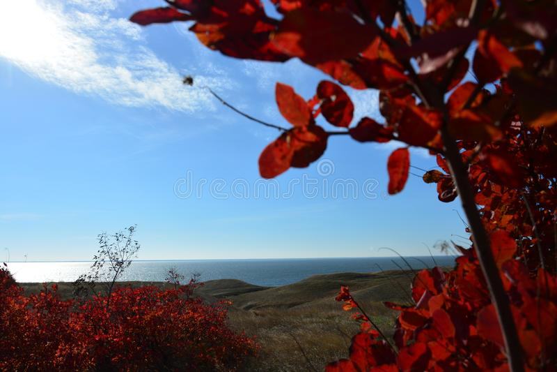 Estuaire de Dnieper-Bugsky images stock