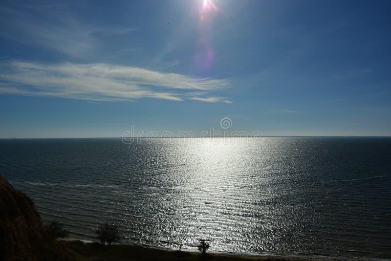 Estuaire de Dnieper-Bugsky photos libres de droits