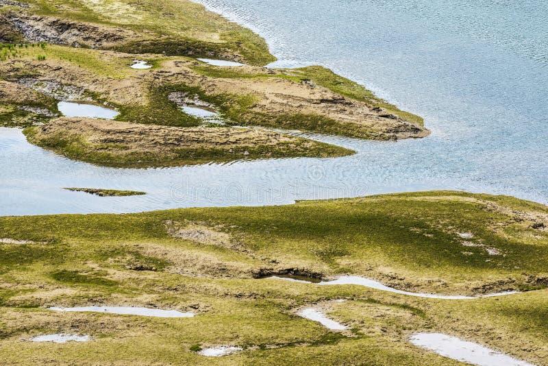 Estuario de San Vicente de la Barquera, España imágenes de archivo libres de regalías