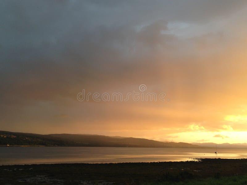 Estuario di Beauly, Scozia fotografie stock libere da diritti
