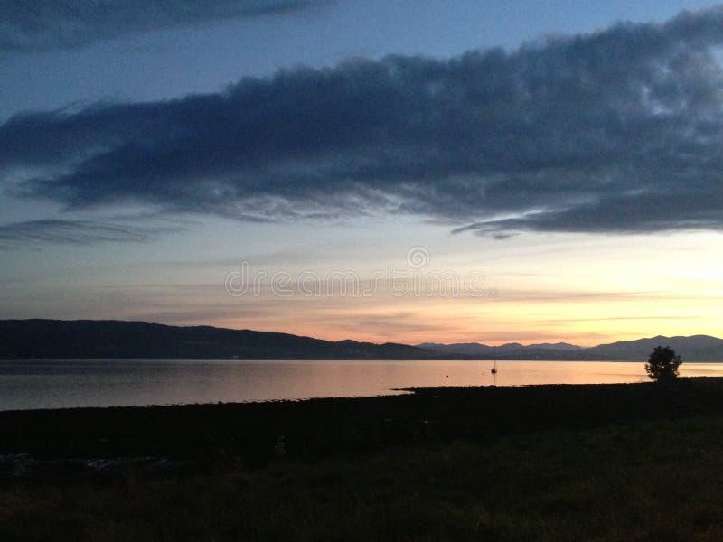 Estuario di Beauly, Scozia fotografia stock libera da diritti