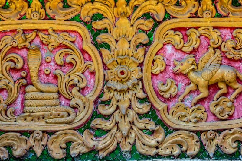 Estuco concreto tailandés imagen de archivo libre de regalías