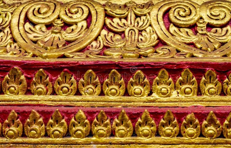 Estuco concreto tailandés foto de archivo