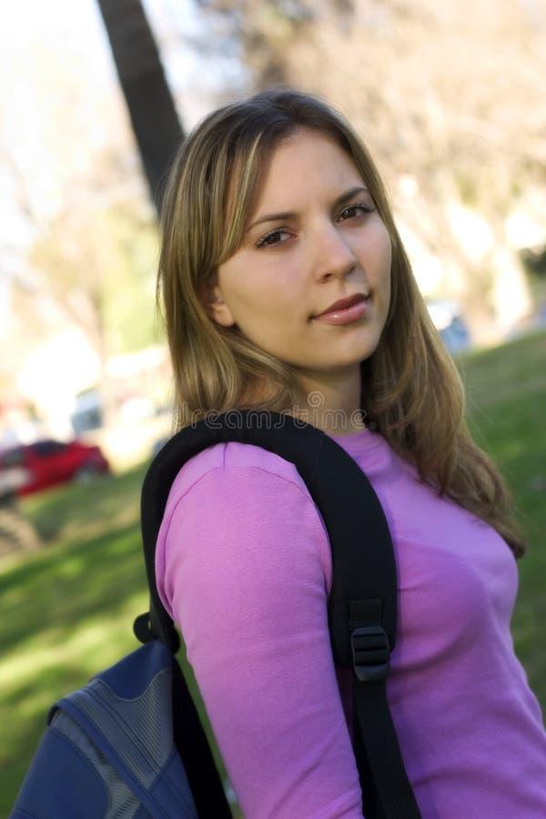 Download Estudante imagem de stock. Imagem de teens, mulher, escola - 65019
