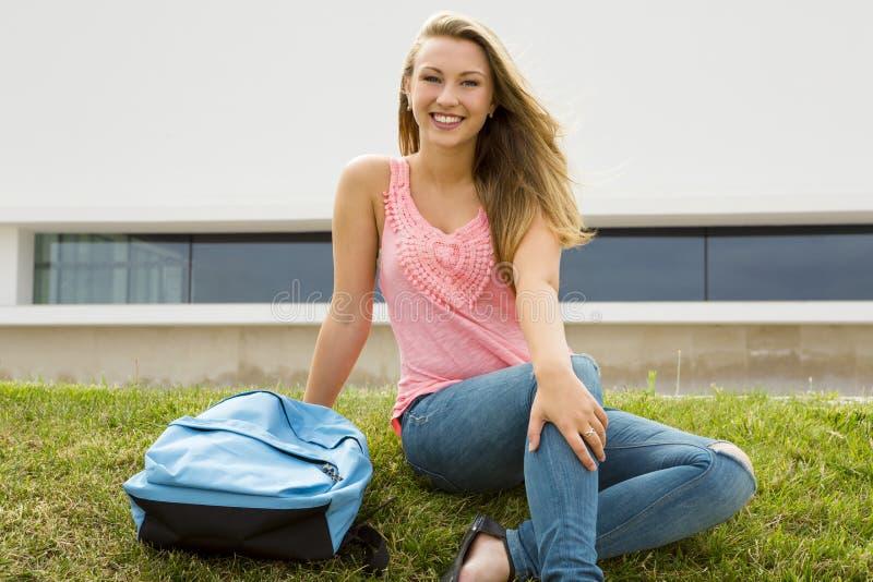 Estudante adolescente imagem de stock royalty free
