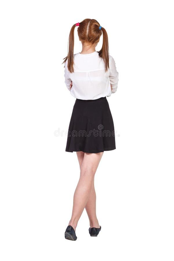 Estudante adolescente na roupa formal imagem de stock