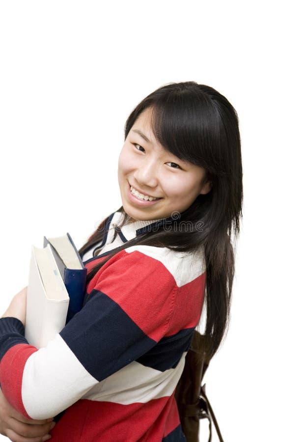 Estudante alegre fotos de stock