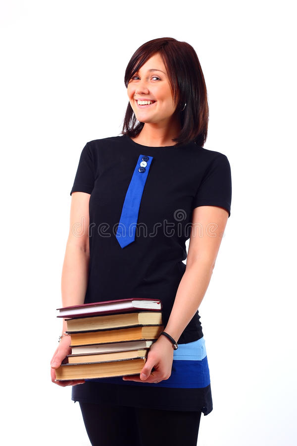 Estudante bonito foto de stock