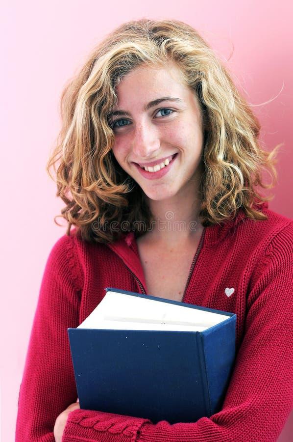 Estudante da High School consideravelmente fotografia de stock royalty free