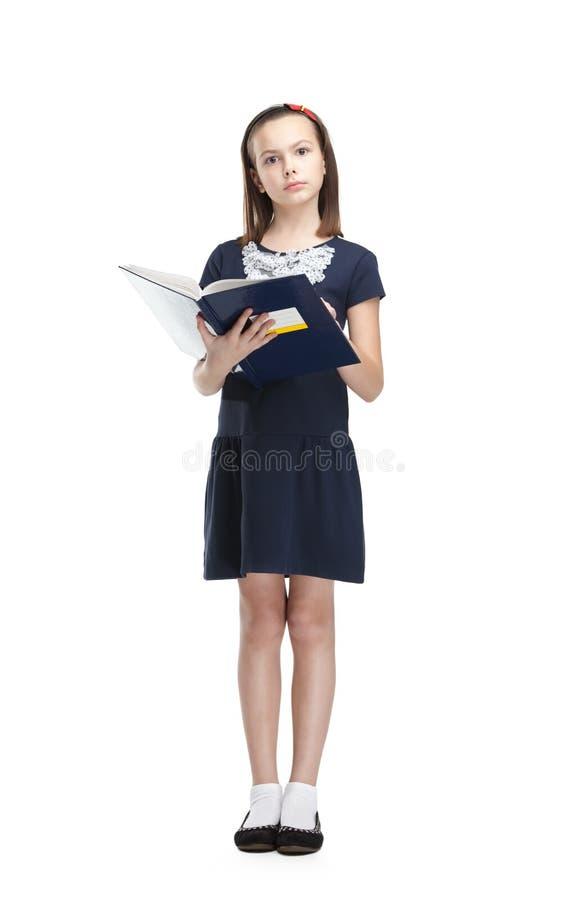 Estudante da leitura imagem de stock