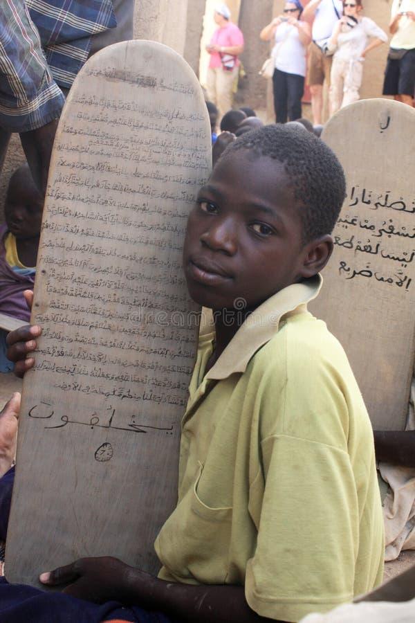 Estudante de Koran fotografia de stock