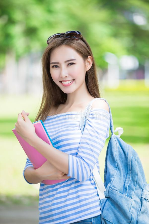 Estudante de mulher da beleza fotos de stock