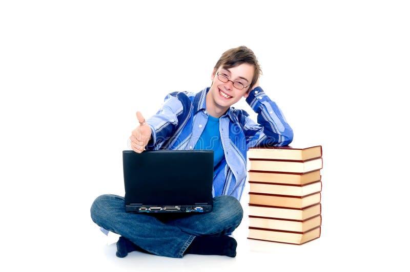 Estudante do adolescente imagem de stock