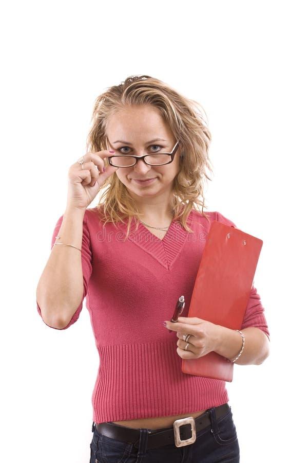 Download Estudante fêmea imagem de stock. Imagem de sorriso, carregue - 16850801