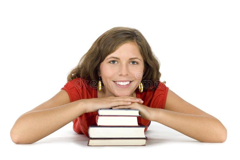 Estudante fêmea imagem de stock royalty free