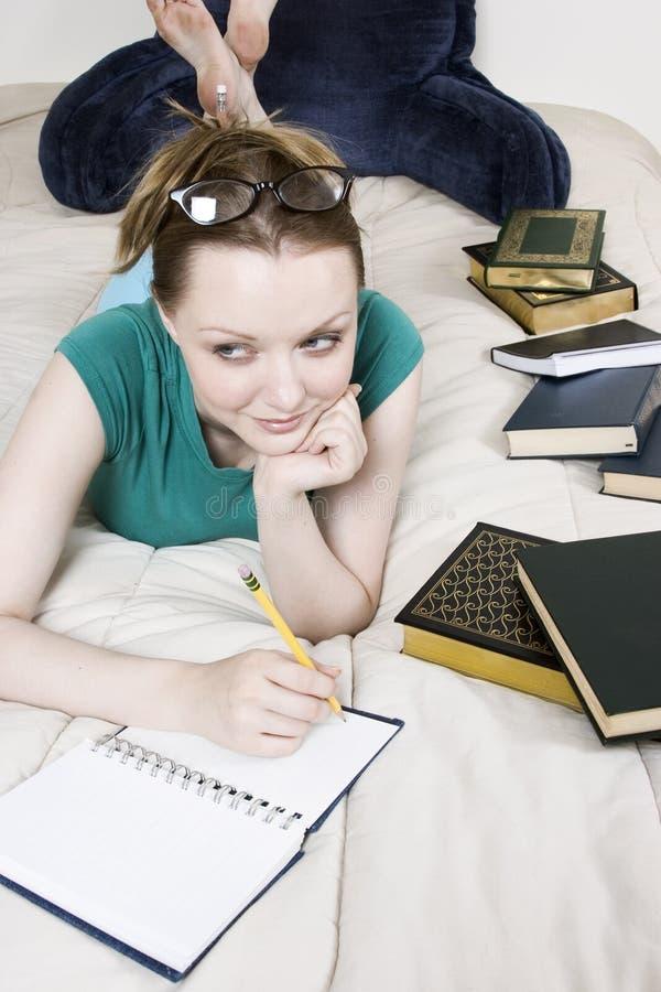 Estudante fêmea fotos de stock royalty free