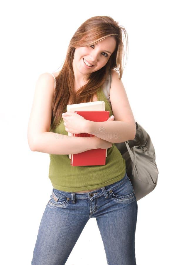 Download Estudante feliz imagem de stock. Imagem de conhecimento - 10063287