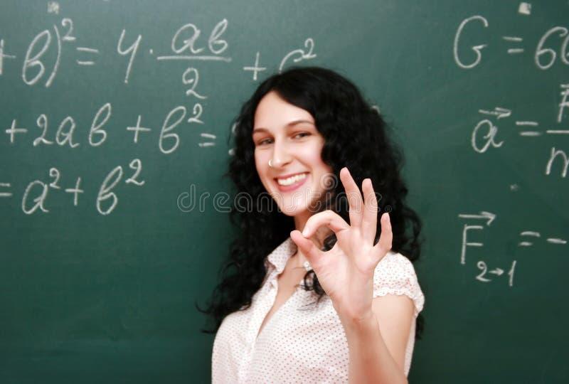 Estudante feliz imagens de stock