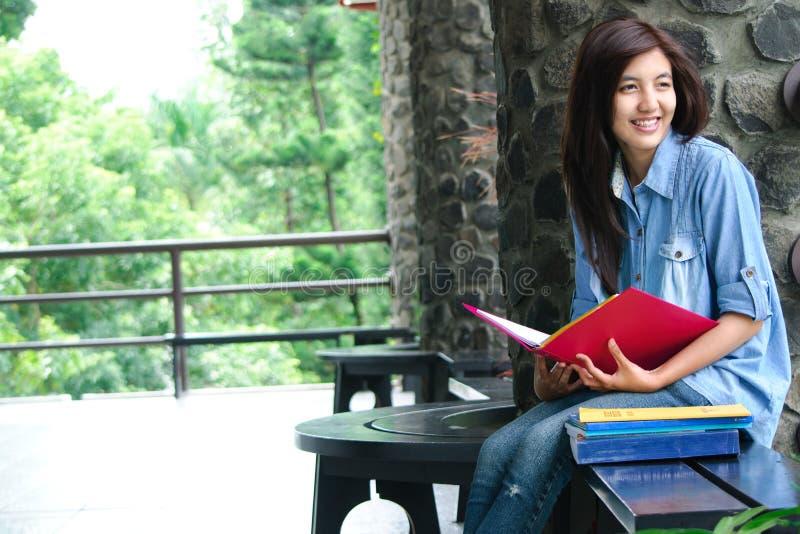 Estudante feliz fotos de stock