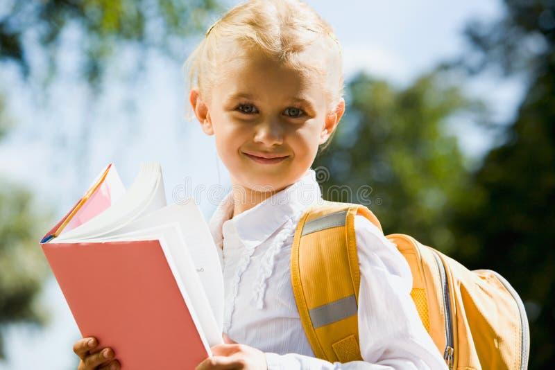 Estudante feliz foto de stock