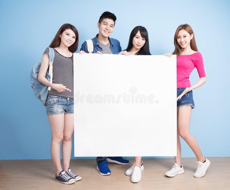Estudante feliz do grupo fotos de stock