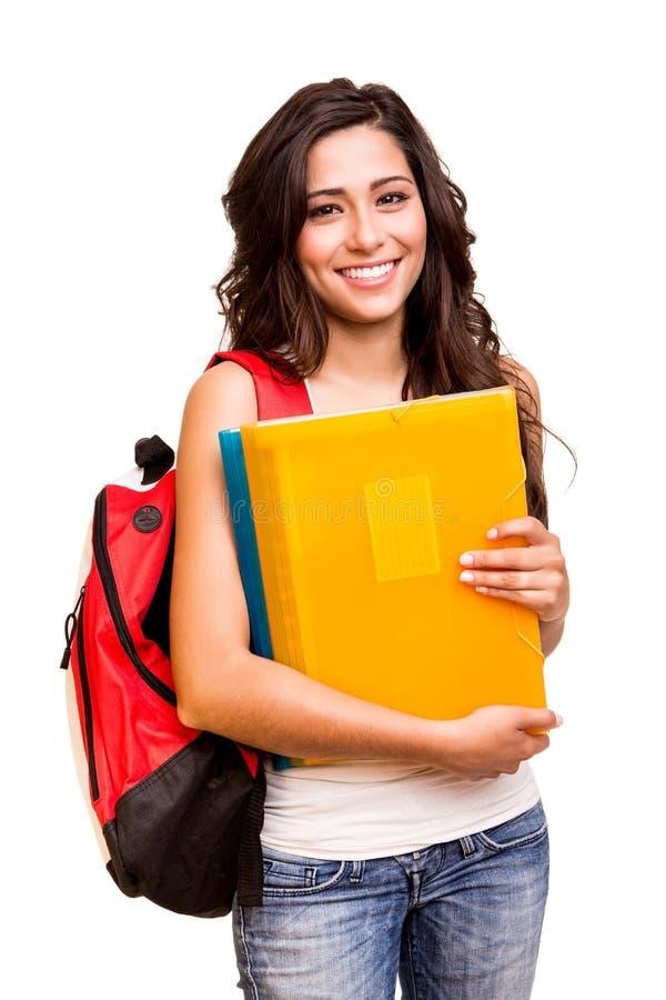 Estudante feliz novo imagens de stock