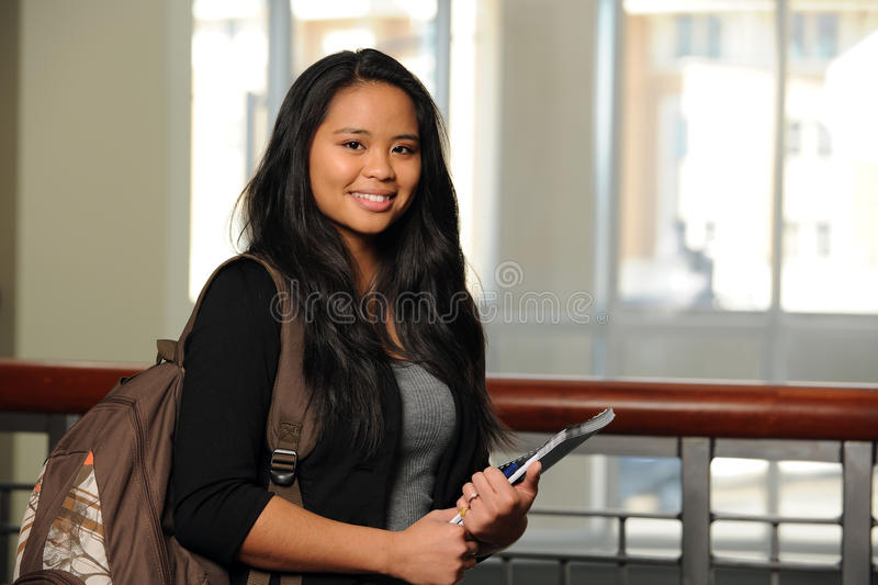 Estudante filipino fotos de stock royalty free