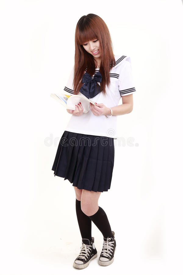 Estudante japonesa foto de stock