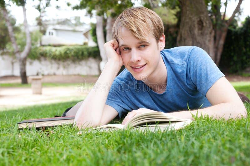 Estudante masculino novo imagem de stock royalty free