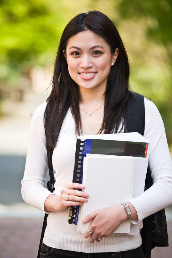 Estudante universitário foto de stock