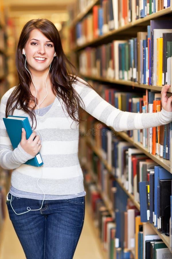 Estudante universitário da raça misturada fotografia de stock