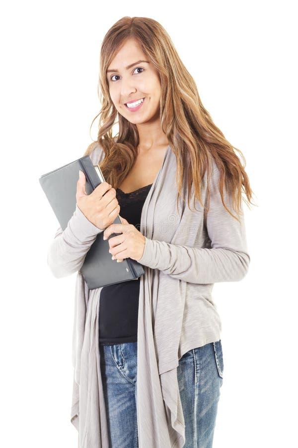Estudante universitário fêmea foto de stock